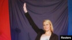 Marion Marechal-Le Pen, članica Nacionalnog fronta i rođaka liderke Nacionalnog fronta Marine Le Pen