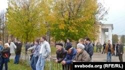 «Народны сход» 8 кастрычніка ў Магілёве