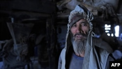A Hazara laborer in Kabul's old quarter. Hazaras are generally considered to comprise the third-largest ethnic group in Afghanistan, about the same as ethnic Uzbeks.