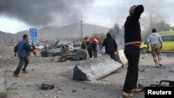 Підрив автомобіля на прикордонному переході між Сирією та Туреччиною, 20 січня 2014 року