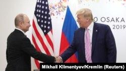Ռուսաստանի և ԱՄՆ-ի նախագահներ Վլադիմիր Պուտինը և Դոնալդ Թրամփը, արխիվ