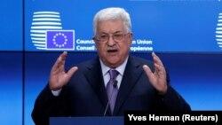 محمود عباس رهبر اداره فلسطین