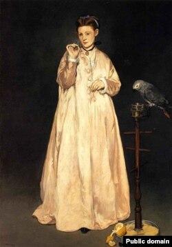 Эдуард Мане, Молодая дама в 1866