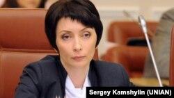 Former Justice Minister Olena Lukash