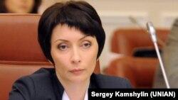 Украинаның бұрынғы әділет министрі Алена Лукаш.