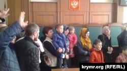 Заседание подконтрольного Кремлю Верховного суда Крыма, 24 марта 2017 года