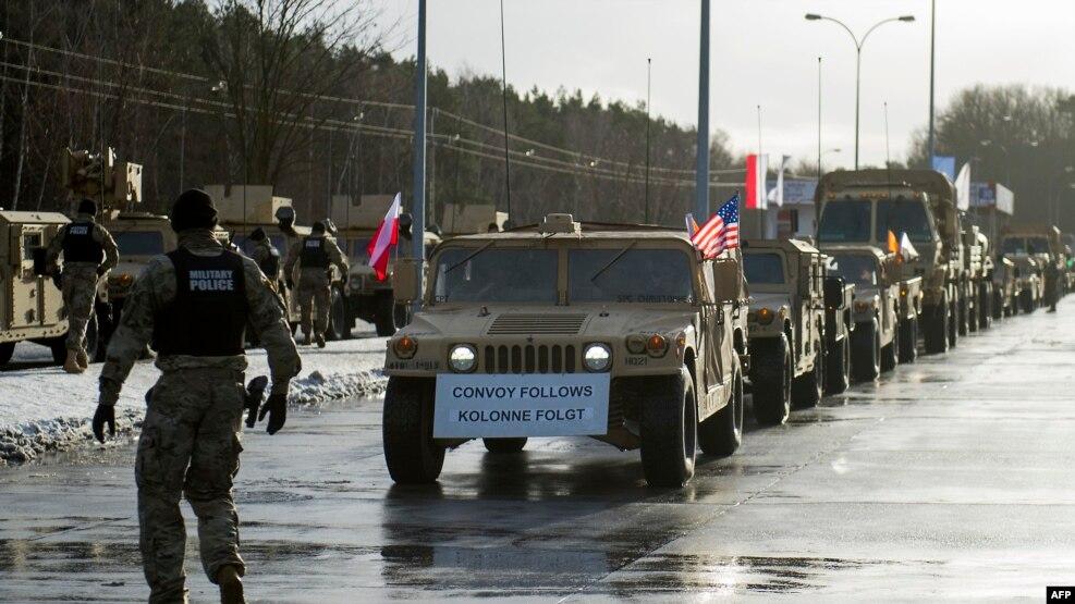 ABŞ ordusu Polşada