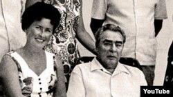 Leonid Brejnev və tibb bacısı Nina