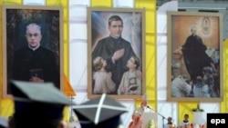 Missa pentru beatificarea a trei preoți în Varșovia