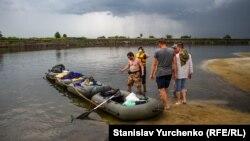 Туристическая Украина: сплав по Десне (фотогалерея)