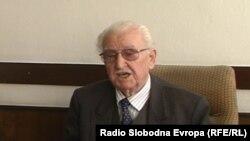 Благоја Чонески, претседател на прилепската организација на Сојузот на борците.
