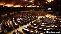France -- A session of the Parliamentary Assembly of the Council of Europe, Strasbourg, 16Mar2008