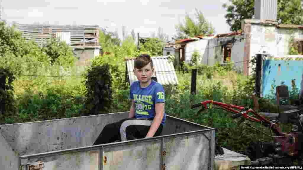 Діти тут не живуть постійно, втім, приїжджають на літо