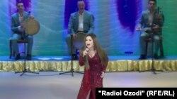Ҳунарнамоии Севинч Мӯъминова дар шаҳри Душанбе. 10 майи 2017