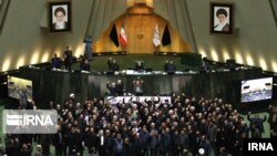Іранскія дэпутаты 7 студзеня 2020