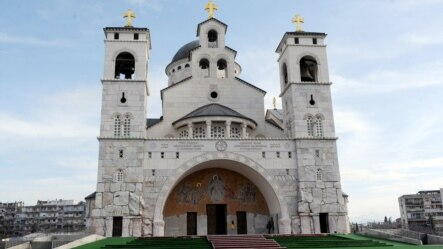 Podgorica, pravoslavna crkva