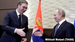 Aleksandar Vučić i VladimirPutin, Soči