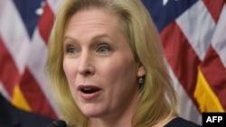 Senatorja demokrate, Kirsten Gillibrand.