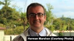 Секретарь Священной митрополии Абхазии Герман Маршан