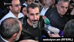 Серж Танкян в Ереване. 7 мая 2018 года