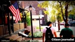 """Филадельфия қаласындағы """"Болашақ"""" бағдарламасы бойынша білім алып жатқан қазақстандық студенттер."""