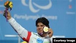 مجید فرزین دارنده مدال طلای پارالمپیک لندن