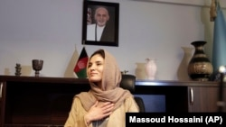 """People are criticizing my appointment because they think Afghan women are not competent,"" Hosna Jalil says."
