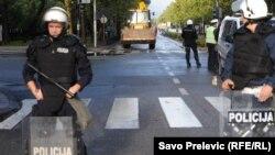 Ulice Podgorice nakon prekida protesta, ilustrativna fotografija