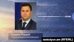 Ermənistan müdafiə nazirinin müavini Gabriel Balayan
