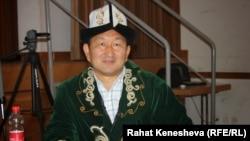 Бактыбек Ишатов. Сүрөт Европадагы кыргыздардын жолугушуусунда тартылган. 30-август, 2014-жыл