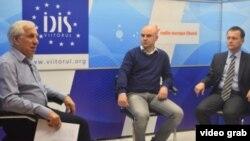 Vlad Bercu, Valentin Lozovanu și Ion Tornea