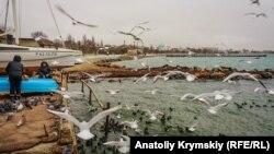 Реконструкция набережной имени Терешковой в Евпатории
