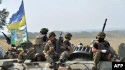 Українські бійці в зоні АТО. Ілюстративне фото