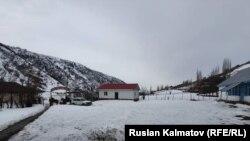Жалал-Абад шаарына караштуу Тоо-Кызыл-Суу айылы. 10-февраль 2020-жыл.