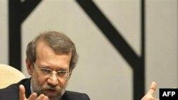 لاریجانی: « به هيچ وجه مکانيزم تعليق را برای کشور به صلاح نمی بينم.»