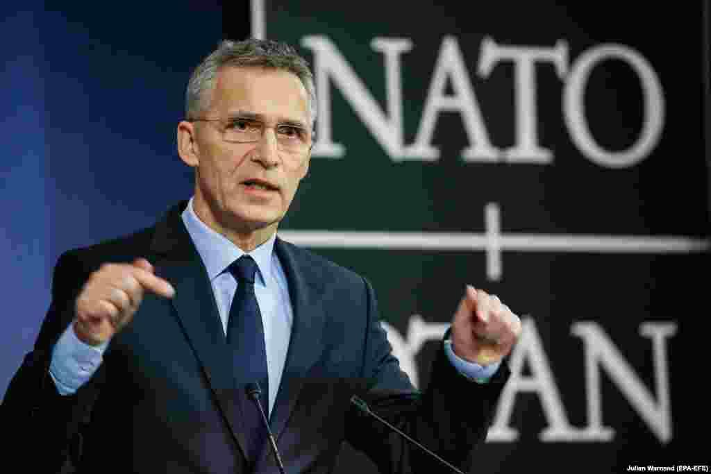 БЕЛГИЈА - Членството во НАТО е можно за земјите кои прават вистински напредок во реформите и модернизацијата, како што се покажа со неодамнешниот пристап на Црна Гора, изјави во Брисел генералниот секретар на НАТО Јенс Столтенберг во пресрет на претстојниот состанок на министрите за надворешни работи на Алијансата.