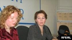 Вероника Марченко (с) һәм Любовь Виноградова