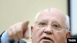 CCCРнинг биринчи ва охирги президенти Михаил Горбачев.