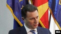 Македонскиот премиер Никола Груевски