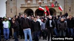 Национал-радикалы в Познани протестуют против легализации абортов