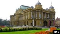 Zagreb, Hrvatsko narodno kazalište