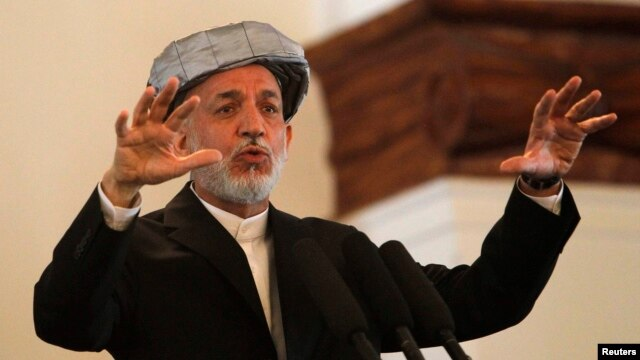 Hamid Karzai is set to step down in 2014 after his second and last term as Afghanistan's president.