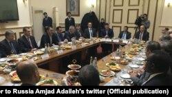 Евкуров встретился с послами 13 арабских государств и представителем ЛАГ