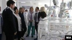 Илустративна фотографија. Министерот за здравство Венко Филипче во посета на болница