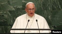 Папа Римський Франциск (ілюстраційне фото)