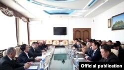 Комиссияи марказии интихоботи Қирғизистон.