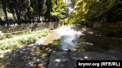 Река Дерекойка в Ялте, архивное фото