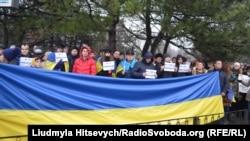 Мітинг одеських патріотичних активістів