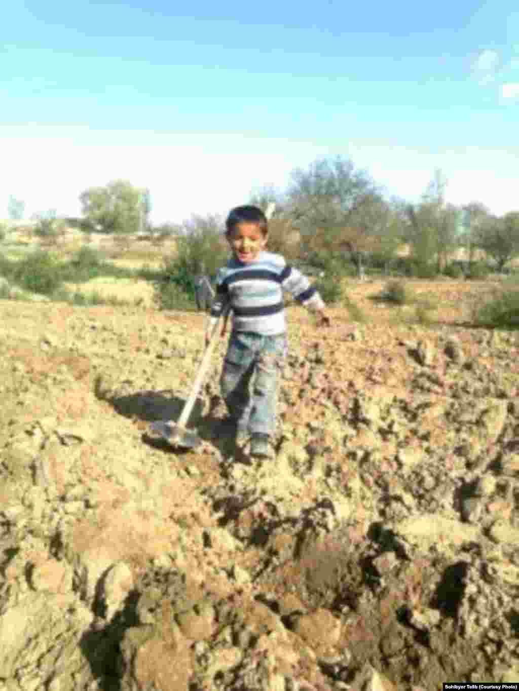 5-летний Джафар