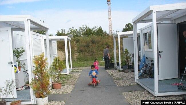 Лагерь для беженцев в Берлине